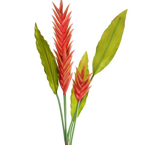 3 head Heliconia Flower (AF-011)