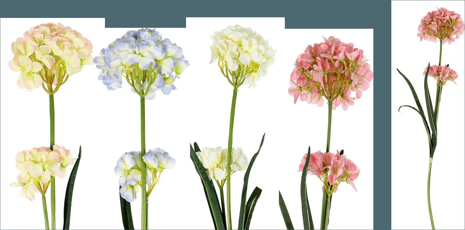 Hydrangeas Artificial Flower (AF-040)