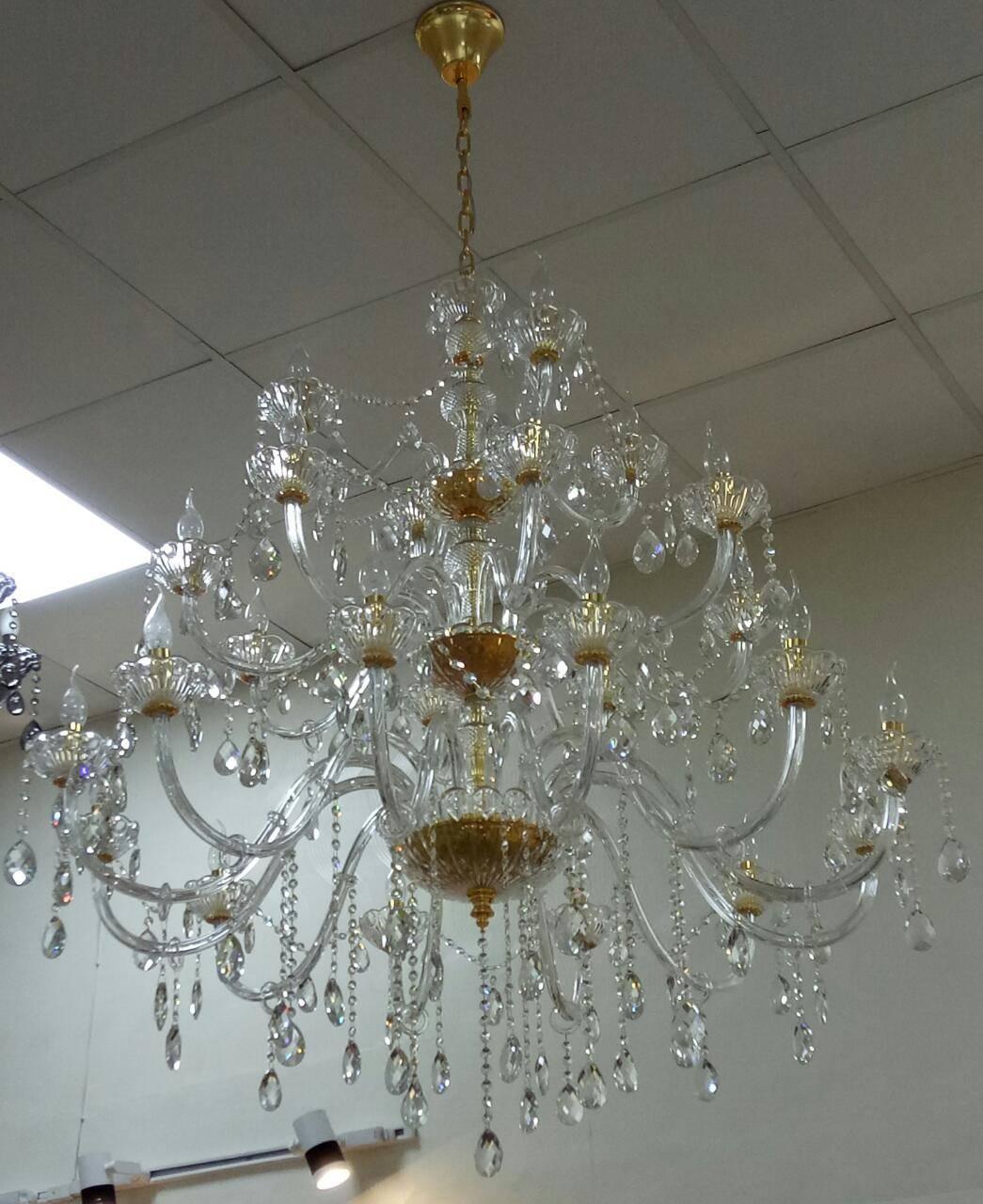 18 Lamps Chandelier (CH-010)